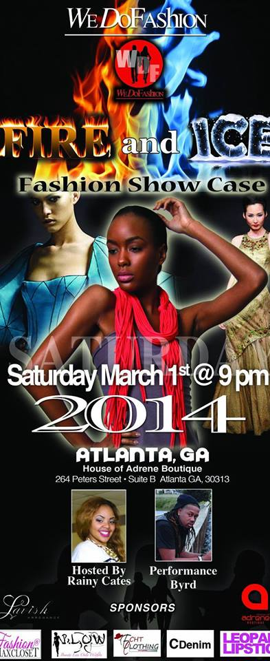 Client Maxine of Max Closet is apart of Wedofashion Fire and Ice fashion show
